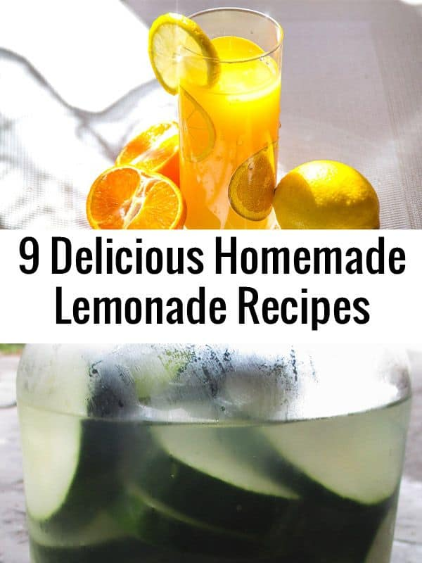 lemonade recipes pinterest