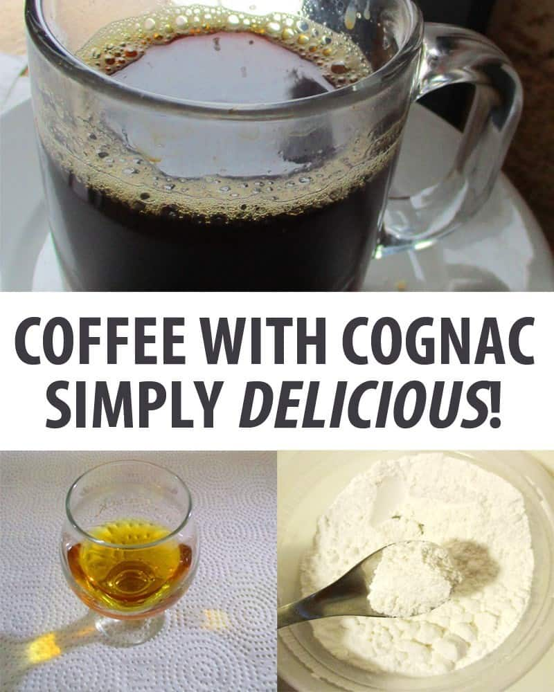 coffee with cognac pinterest