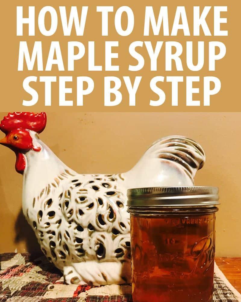 make maple syrup pinterest