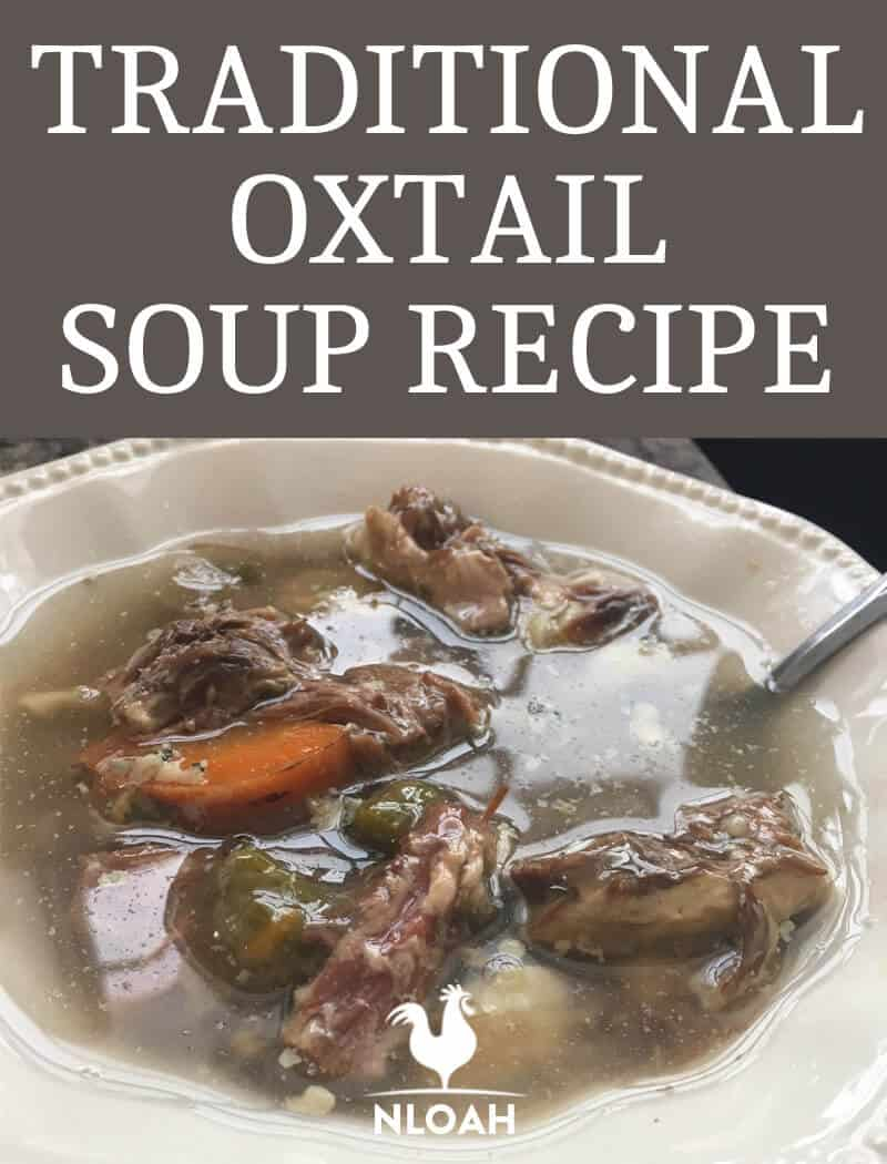 Oxtail Soup pinterest image