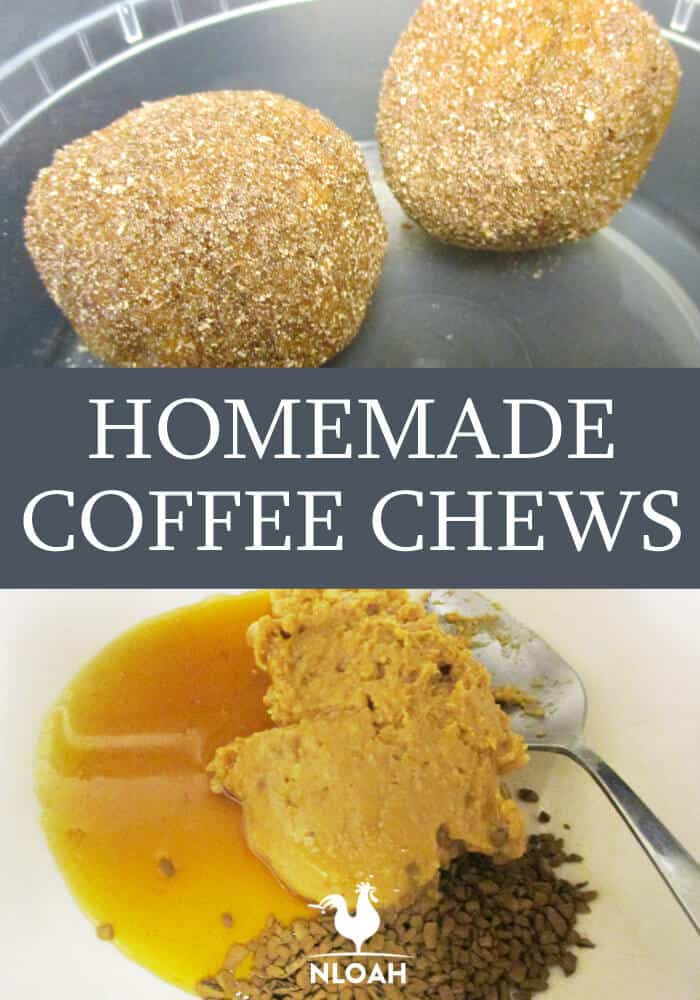 Homemade Coffee Chews