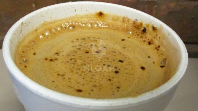 Maple Buttered Coffee