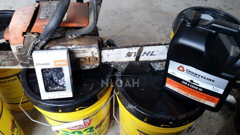 bar oil