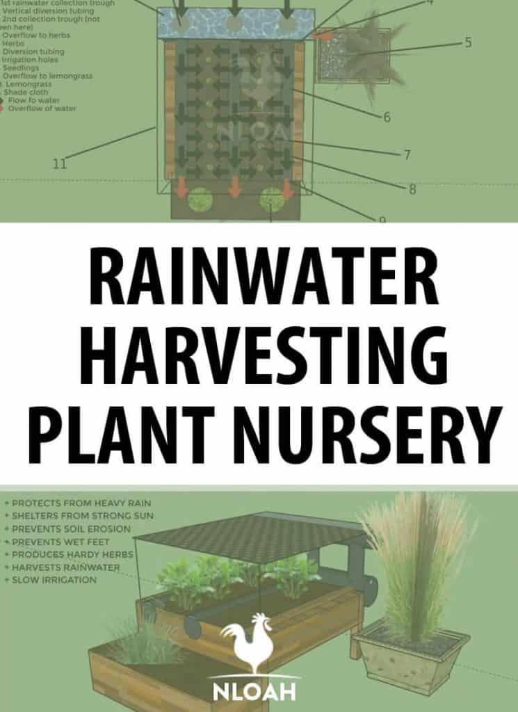 rainwater harvesting pin