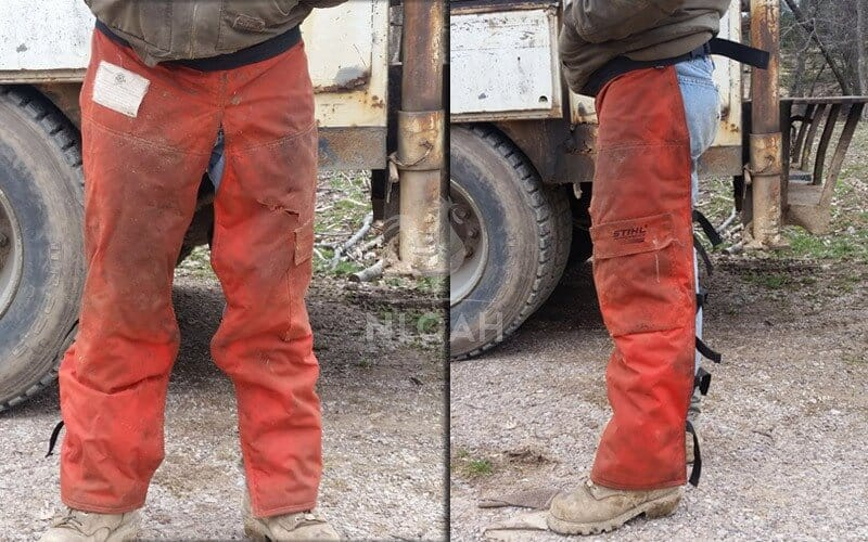 type A protective trousers
