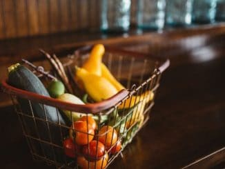 basket full of veggies