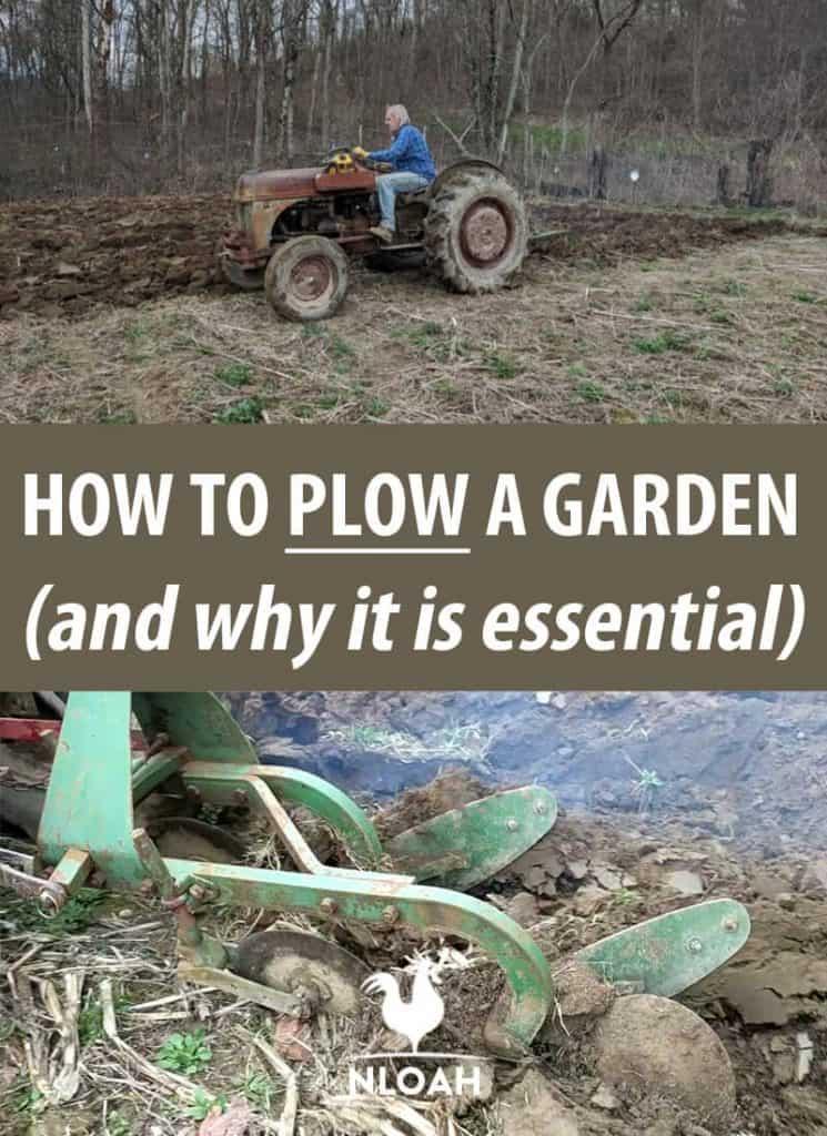 plowing a garden pinterest