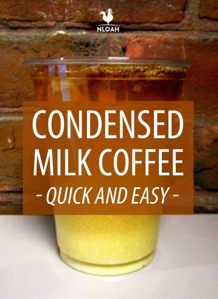 condensed milk coffee pinterest