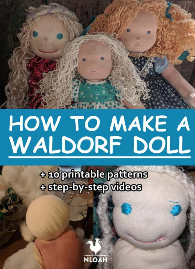 DIY waldorf doll pinterest