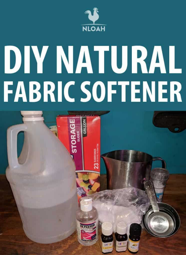 natural fabric softener pinterest
