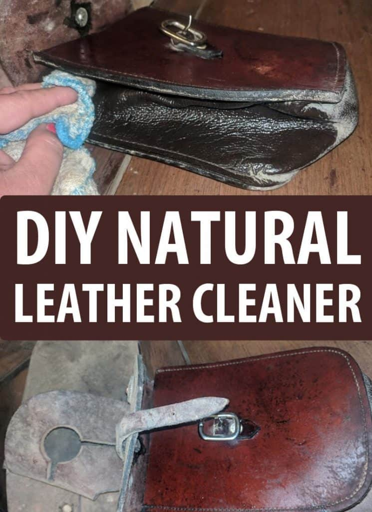 natural leather cleaner pinterest