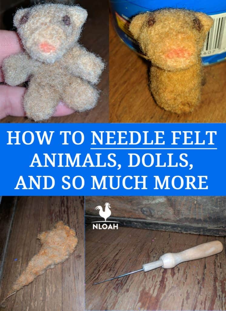needle felting pinterest image