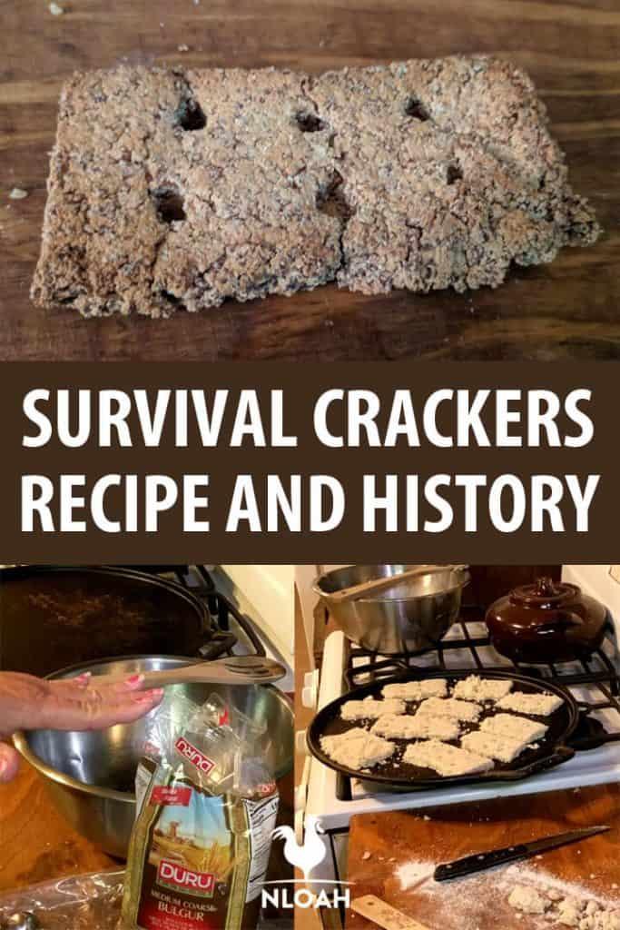 survival crackers pinterest