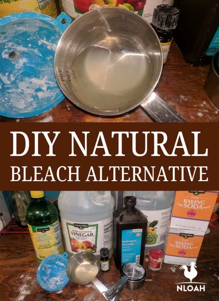 DIY Natural Bleach Alternative Pinterest