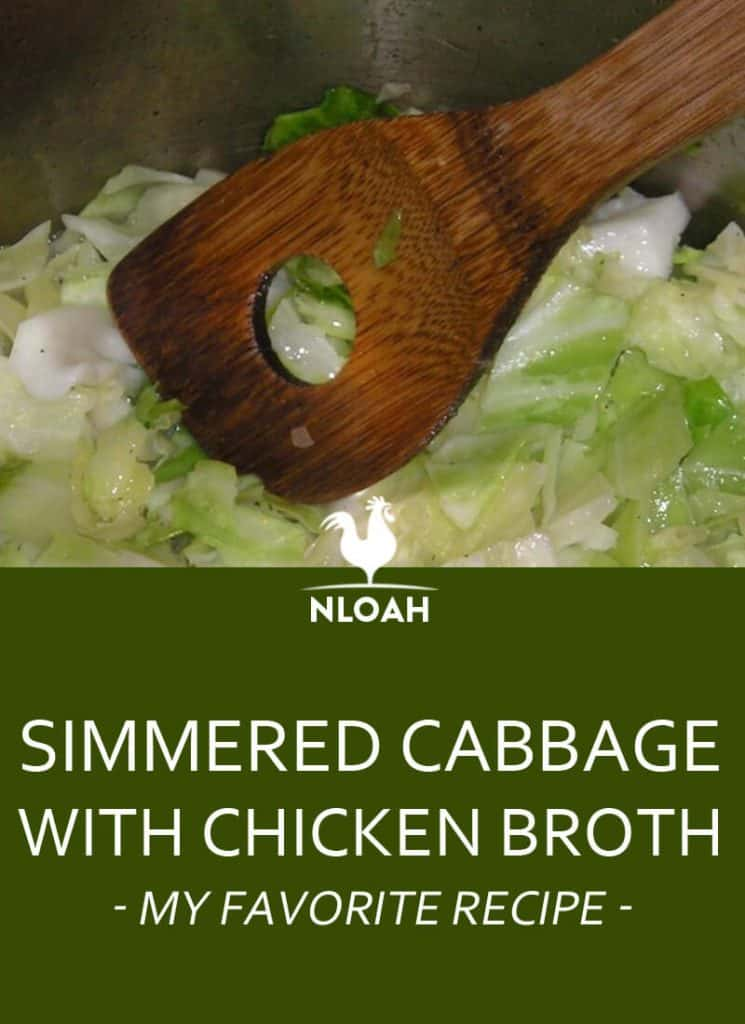simmered cabbage recipe pinterest