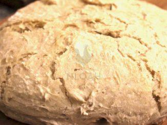 freshly-baked artisan bread