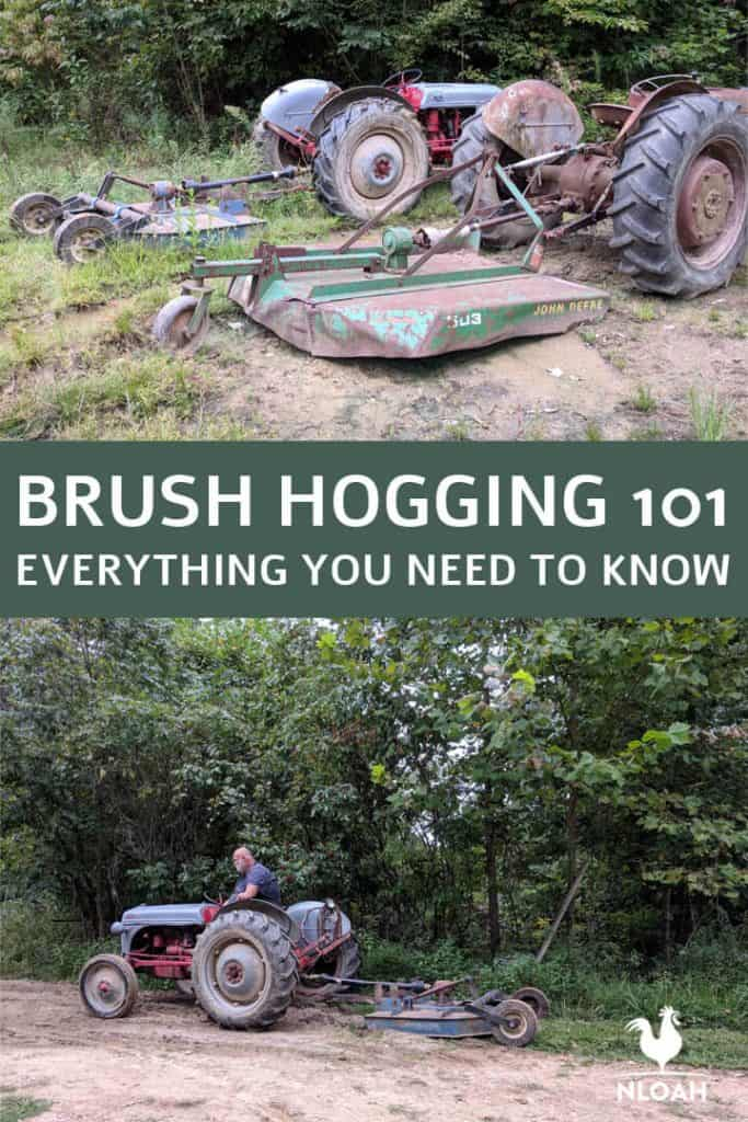 brush hogging 101 pinterest image