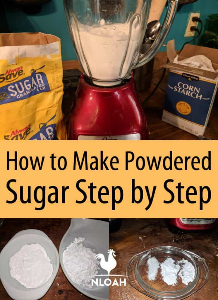 homemade powdered sugar pinterest