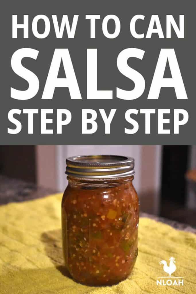 canning salsa pinterest