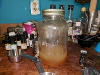diy honey body wash final product