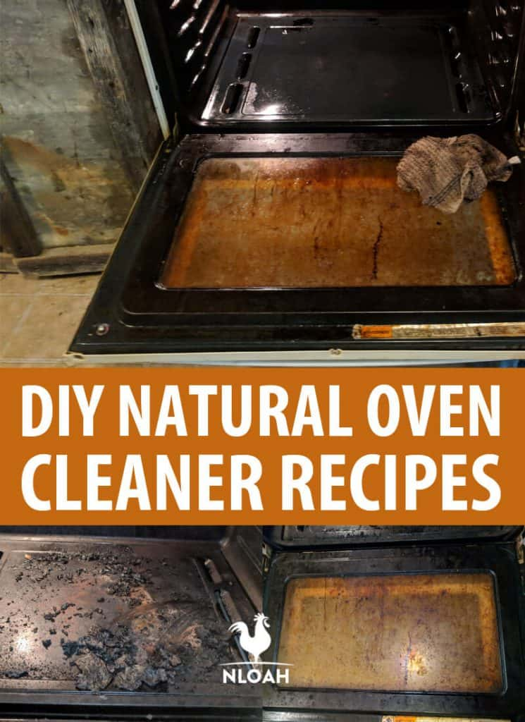 oven cleaner recipe pinterest image