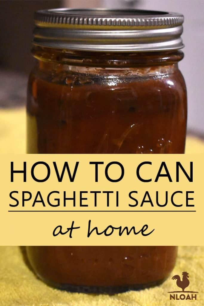 spaghetti sauce pinterest