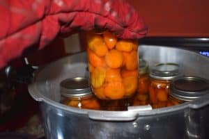 loading a jar into the canner