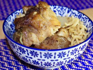 oxtail soup with ramen noodles