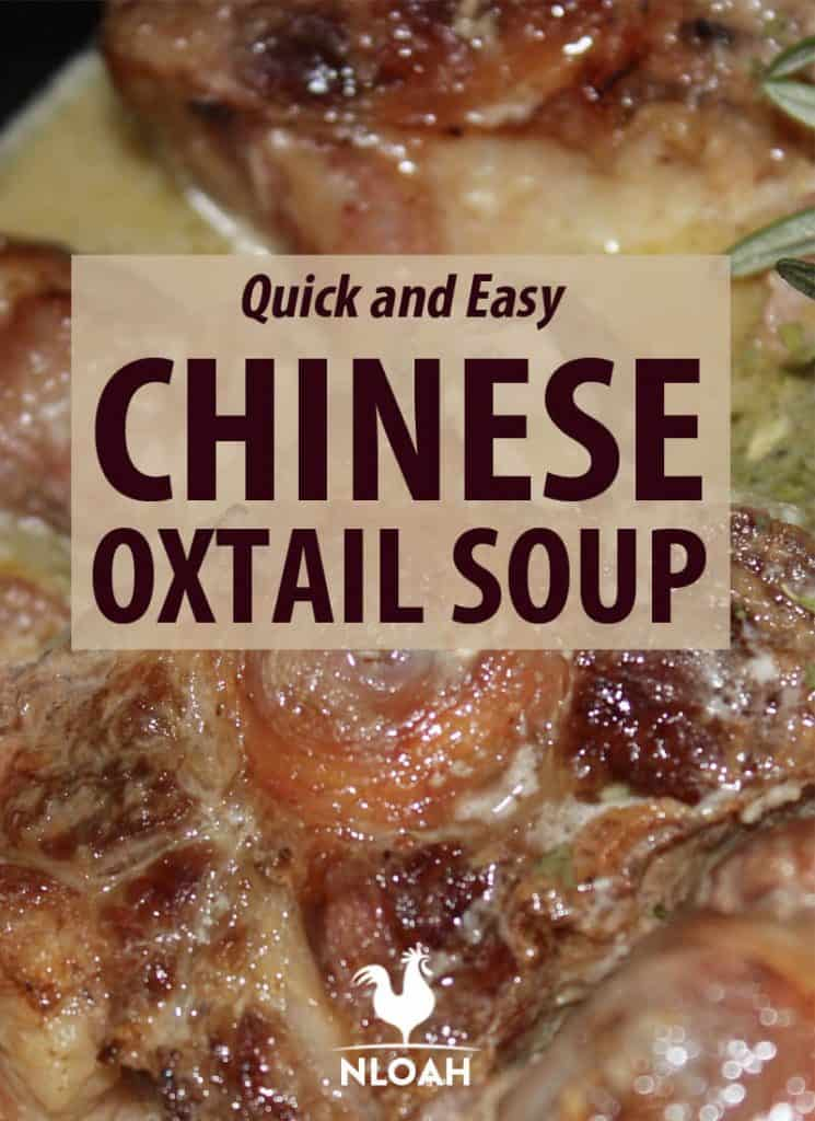 Chinese oxtail soup recipe pinterest