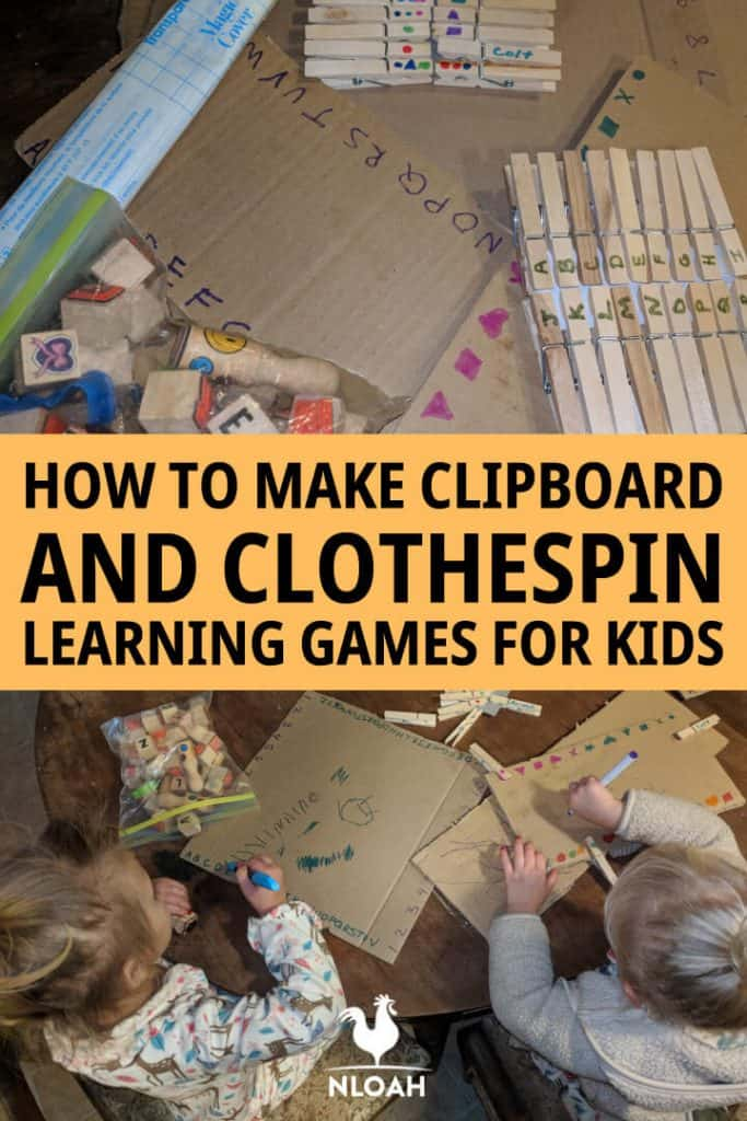 clipboard clothespin games pinterest