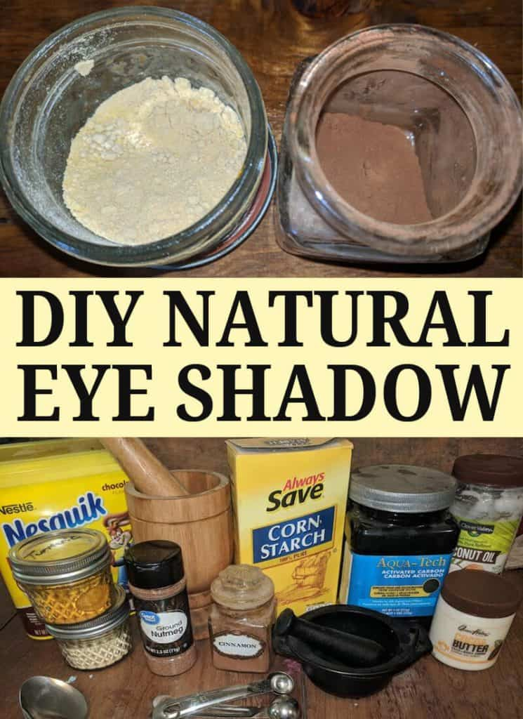 diy natural eye shadow pinterest