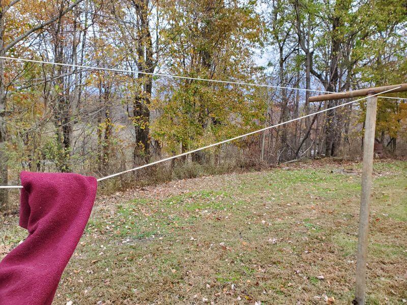 loose clothesline