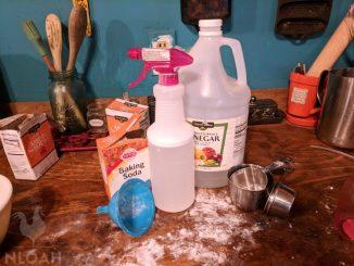 Shower Cleaner Ingredients
