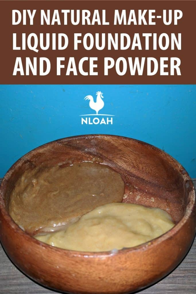 DIY natural make-up pinterest
