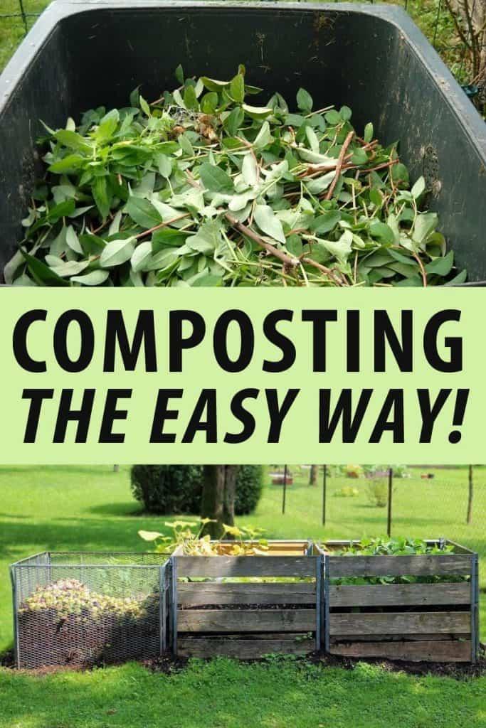 composting Pinterest image