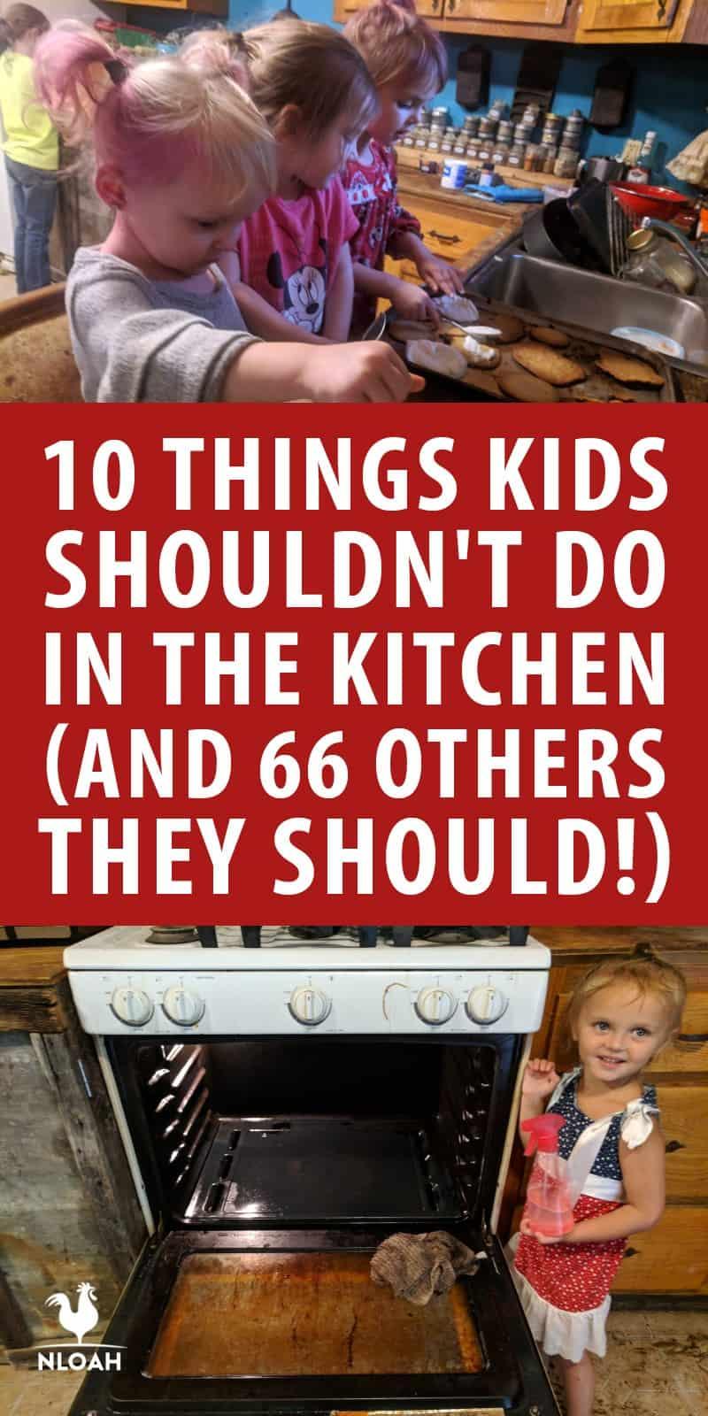 kids should shouldn't do kitchen pinterest