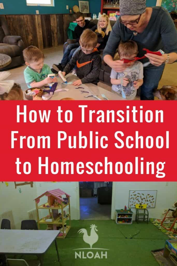 homeschooling transition pinterest