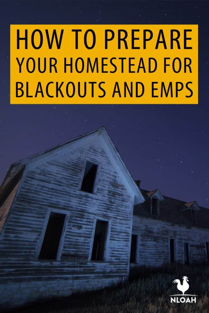 blackouts EMPs preparation pin