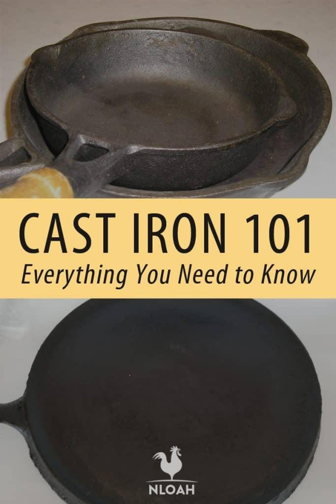cast iron 101 pinterest