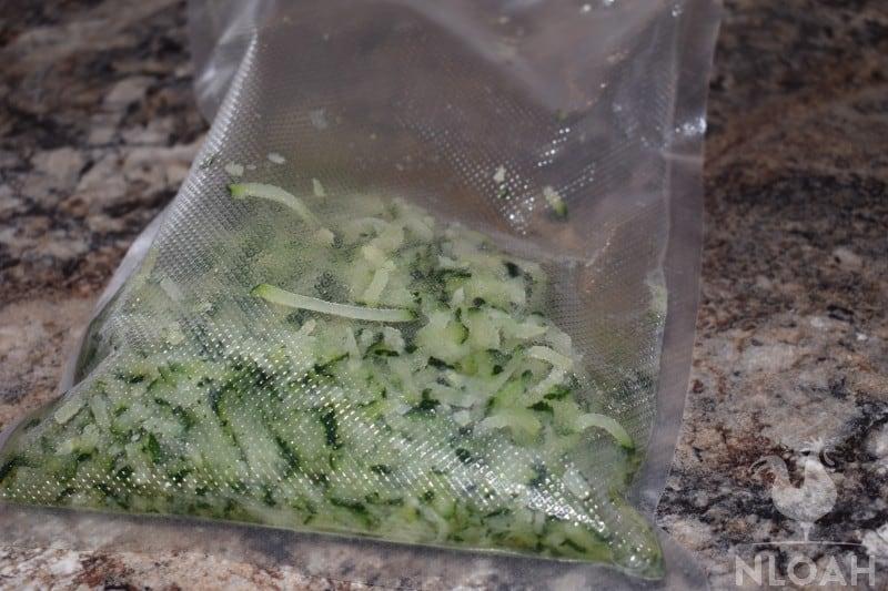frozen zucchini for bread
