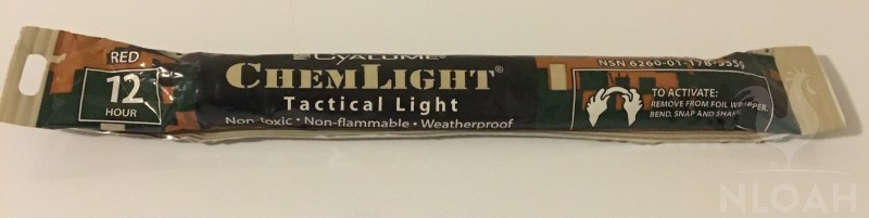 tactical chem lights