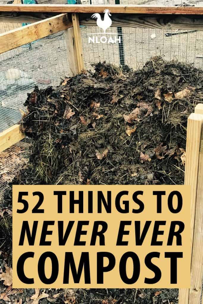 what not to compost pinterest