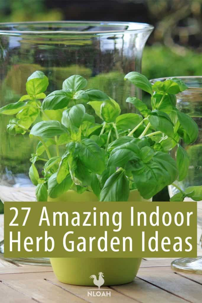 indoor herb gardens Pinterest