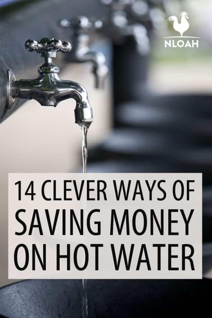 saving money hot water Pinterest