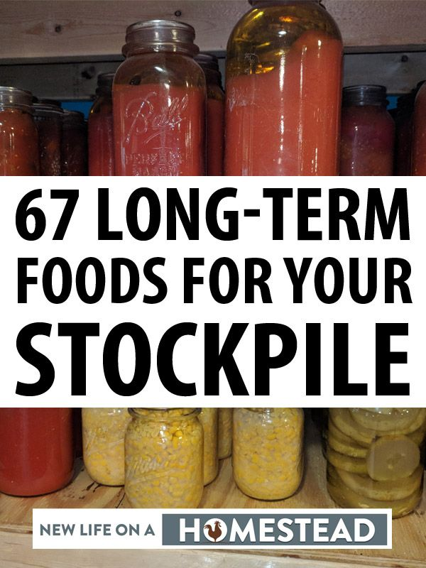 long-term foods pinterest image
