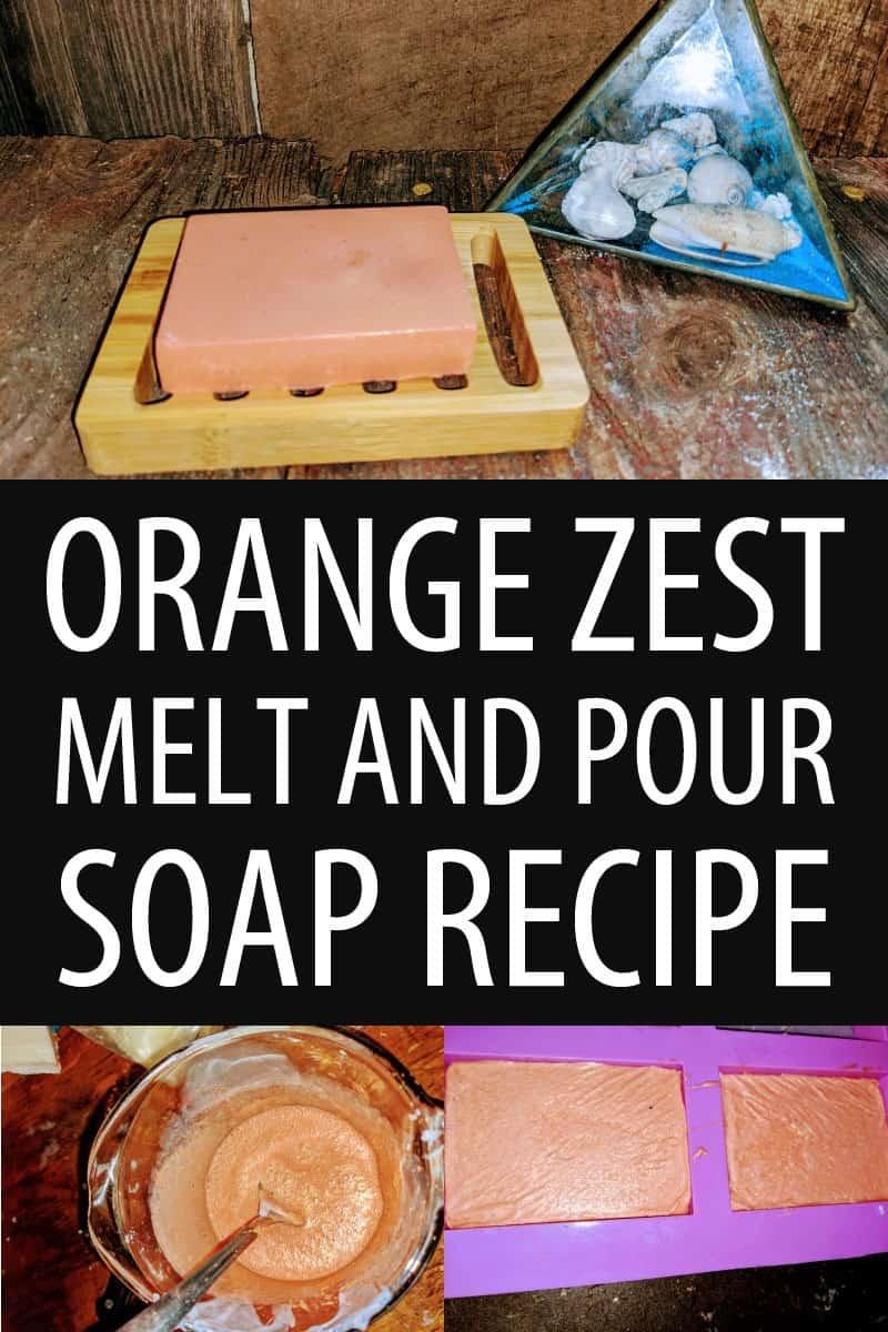 orange zest soap Pinterest