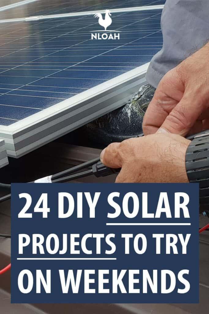 DIY solar proejcts pinterest