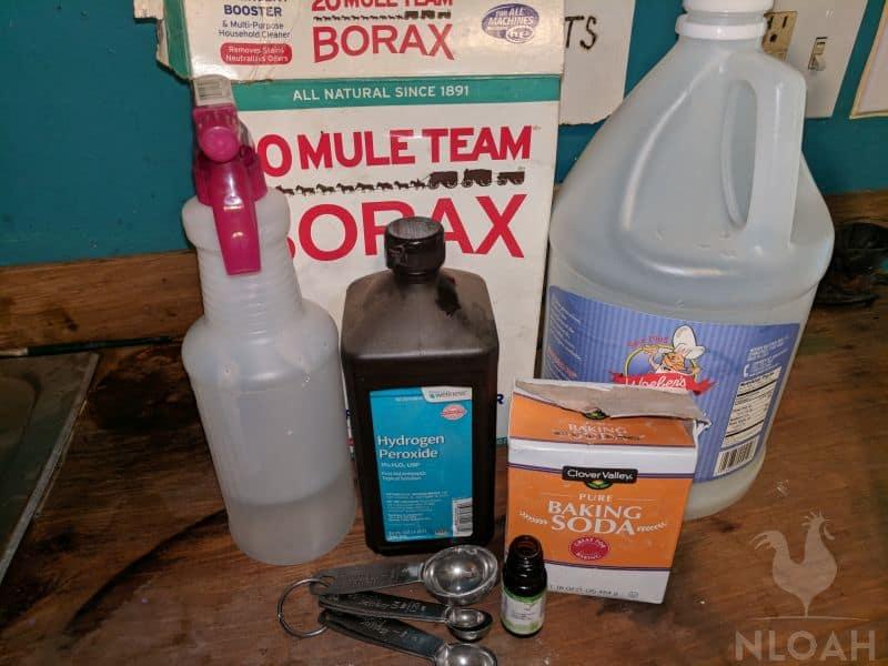 kitchen cleaner ingredients