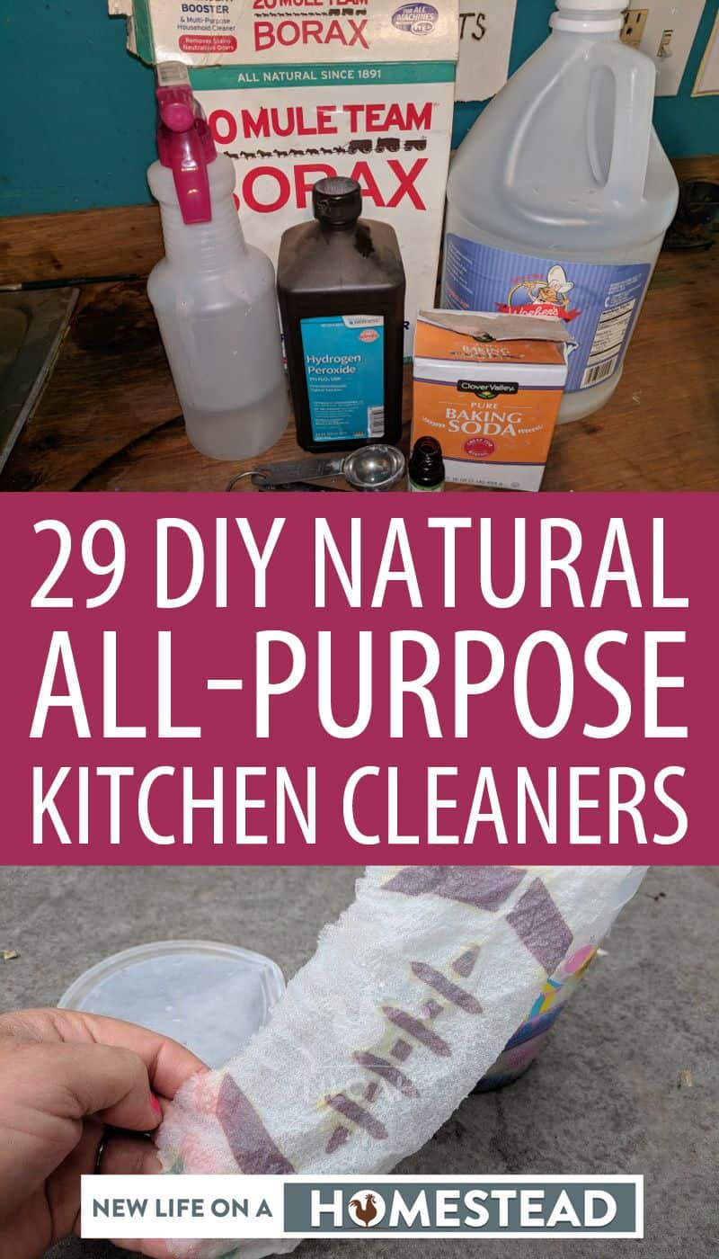 kitchen cleaner recipes