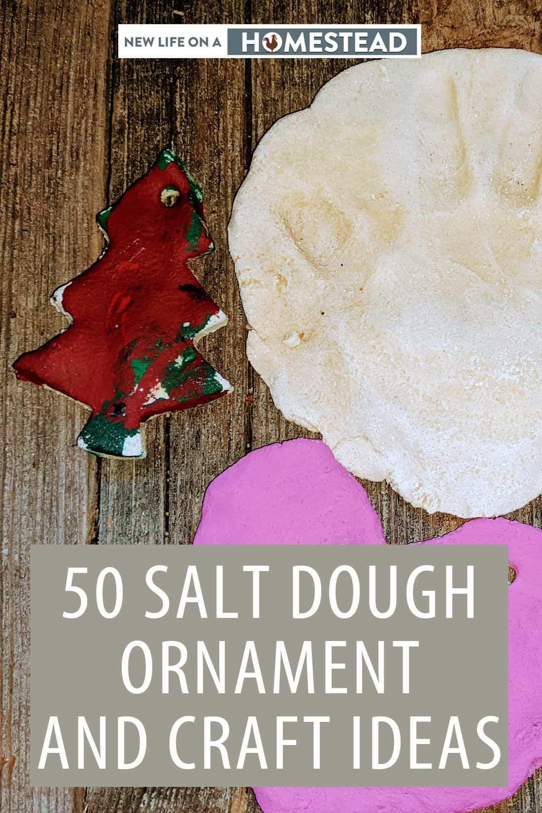 salt dough ornaments pinterest